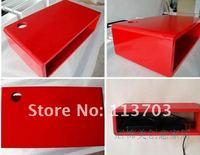 Mordern style home decration  E1 HDF material  wall shelves(CD DVD shelves)