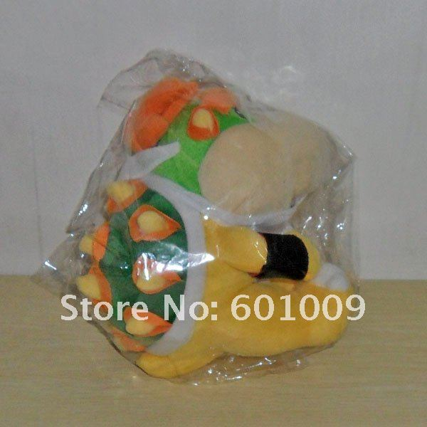 Free Shipping EMS 30/Lot New Super Mario Brothers Bowser JR Plush Doll 7