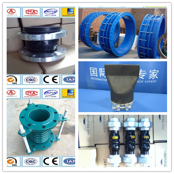 Quick installation and removal pure Iron Steel pipe fittings bellows expansion joint