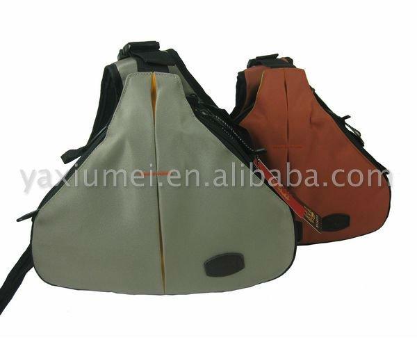 designer slr trangle sling photo camera bag