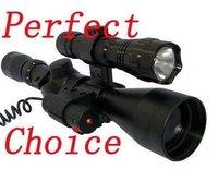Винтовочный оптический прицел Brand New 3-9x40 + Laser +501B Torch Rifle airsoft hunting Scope
