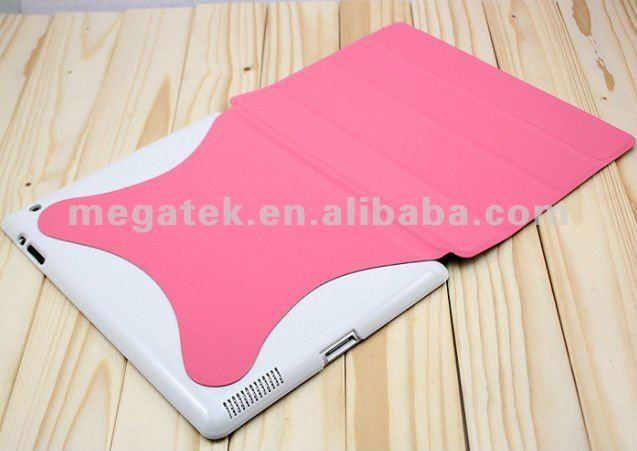 auto sleep wake super slim Magnetic Smart cover case for ipad , for ipad cover , for ipad case cover