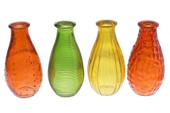 Couleur Vase en verre