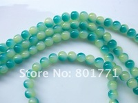 Moq 10USD Diy Jewellry Accessories  Beaded material 136pcs 6mm Colorful Painted Glass Beads ,Imitation Jade Free Shipping !