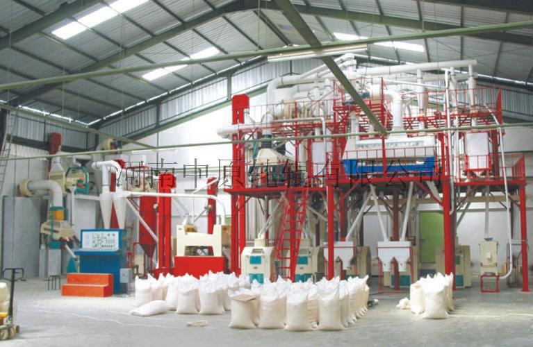 Equipamentos de moagem de grãos para o trigo ou o milho
