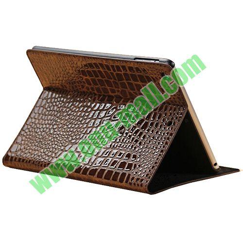 Crocodile Texture Smart Cover Case for iPad Air