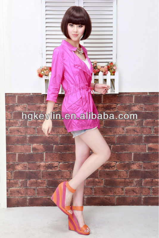 2014 womens unique design outdoor fashion air conditioned jacket