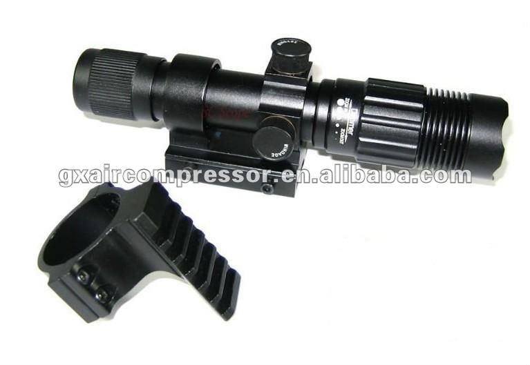 Green Laser Flashlight with Adjustable Beam Focus