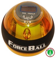 Фитнес-шар Power seller+1pcs Mix Color LCD Counter Led Lights 1 Person gyroscope blue color gyro ball&Force Ball