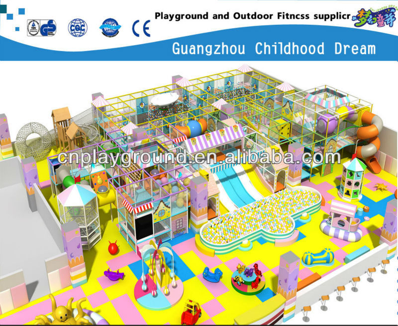 Soft Playground - Kids Game Center ,New Design Popular Indoor Playground Flooring (HC-22312)