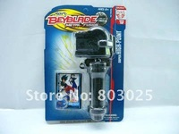 free shipping 300pcs/carton black color beyblade launchers grip,beyblade accessory wholesale