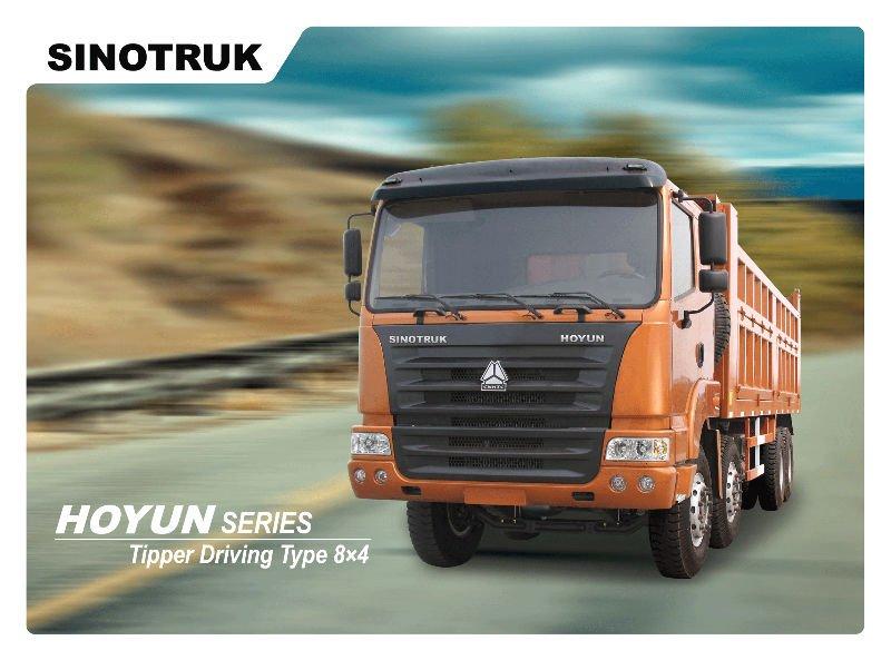2012 Tipper truck