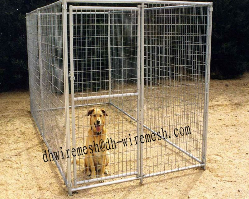 Cheap Chain Link Dog Kennels(ISO9001)