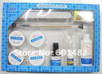 Гель для ногтей professional uv gel kit + 9 w uv lamp
