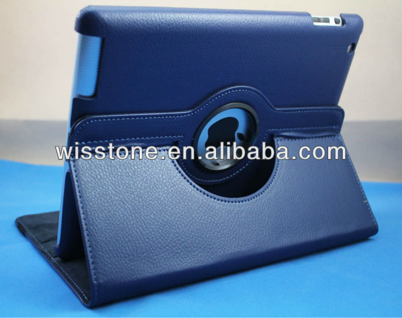 2012 NEW style book leather case for ipad mini