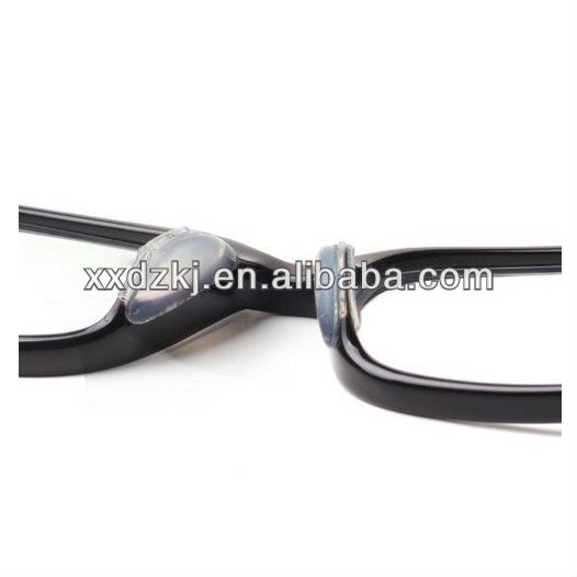 adhesive clear rubber nose pad bridge for plastic frame ...