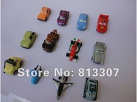 Фигурка героя мультфильма NEW 12 PCS 1set Pixar CARS 2 2th Figures Lightning McQueen Sally Mater Guido