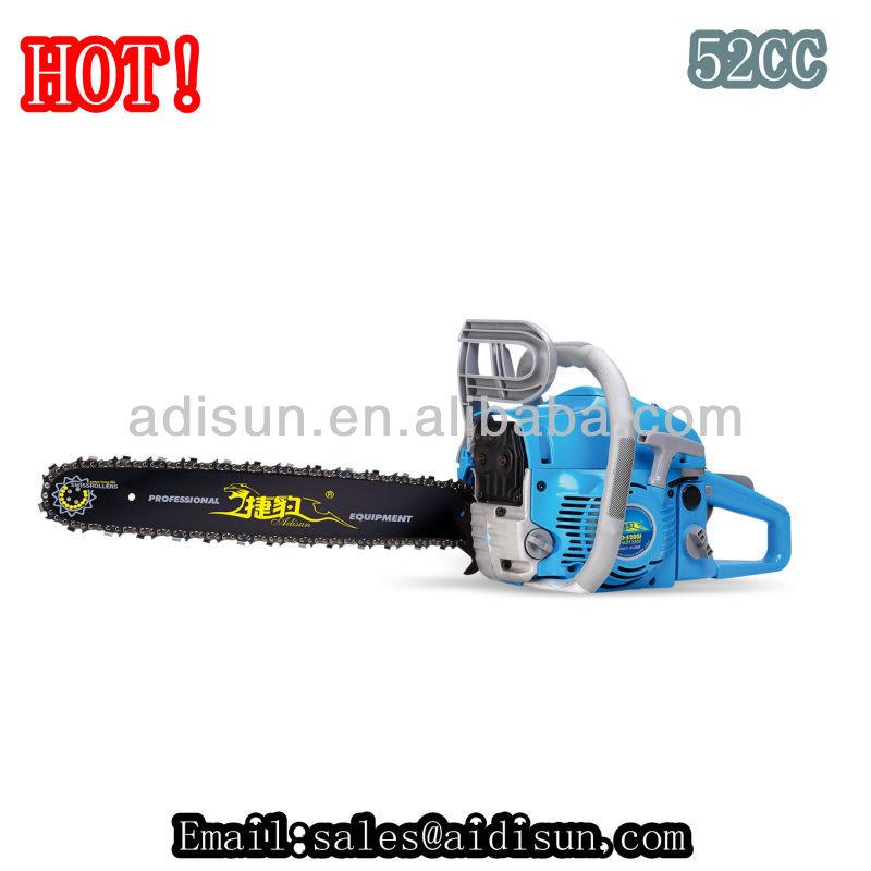 Professional garden tool chainsaw 72.2cc/62cc/58cc/52cc/45cc/38cc/25cc tree cutting machinewith CE certificate