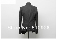 2012 Free Shipping New Arrival Men's Fashion Suit, Leisure Jacket & Hot Sales, Formal Suit, High Quality Tuxedo Black Gray