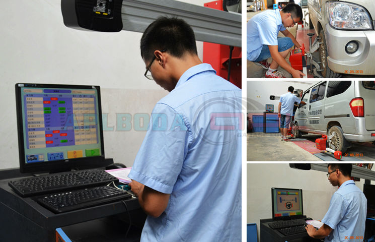 Hot selling APL- 8100 wheel alignment