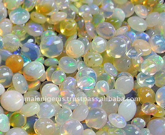 Ethiopian Opal Mix Cabochon Loose Stone