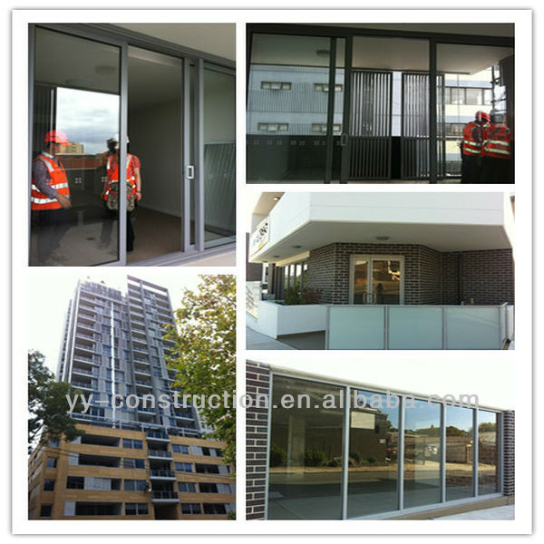 Luxury australia standard aluminium windows with built in blinds ...