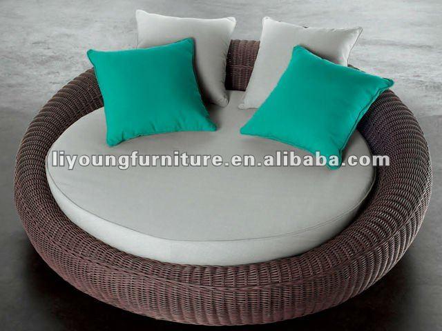 mobiliario jardim rattan : mobiliario jardim rattan:Jardim móveis de vime sofá cama LG-623991-Camas-ID do produto