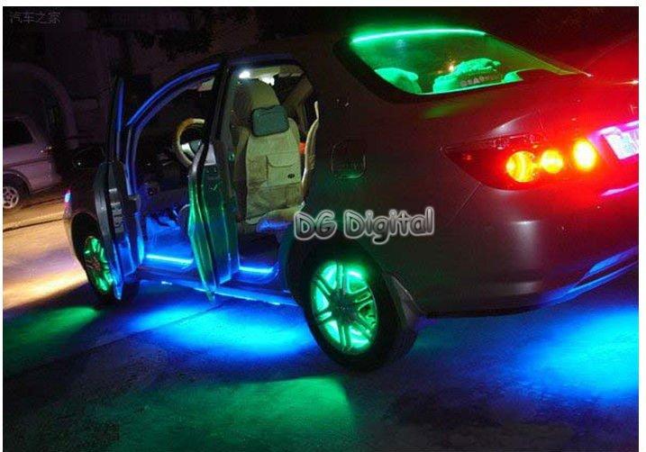 Flexible Led Light Car : flexible LED strip light waterproof LED car decoration light led car ...