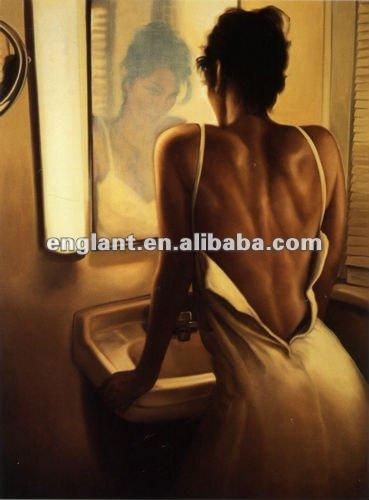 Sex women photo modern paintings oil
