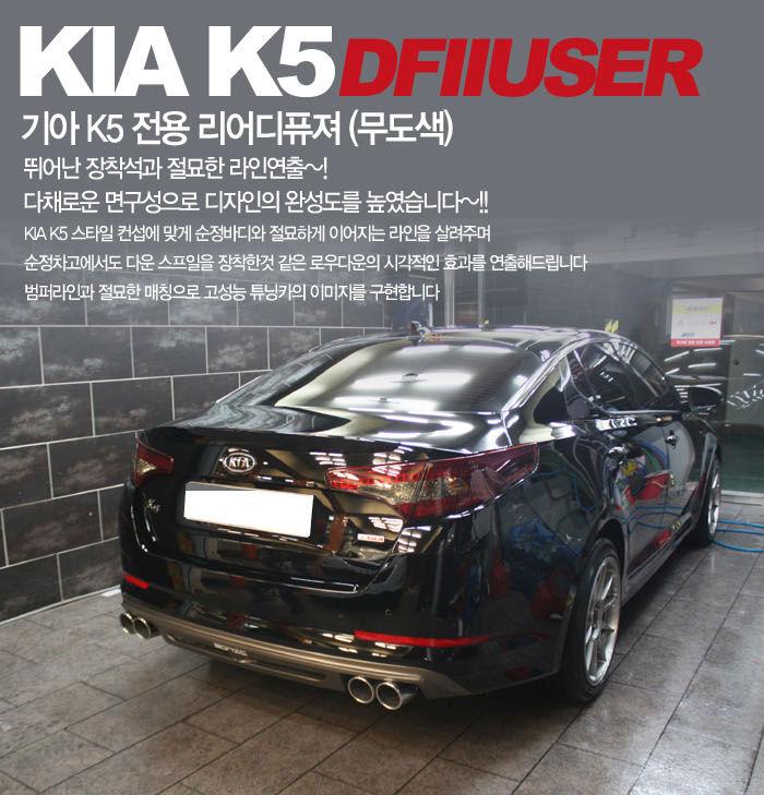 Kia Optima k5 Body Kit Kia Optima k5 Rear Diffuser