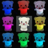 Праздничное освещение Bear 7-Color Changing LED Kids Decor Night Light Lamp Christmas Xmas gift