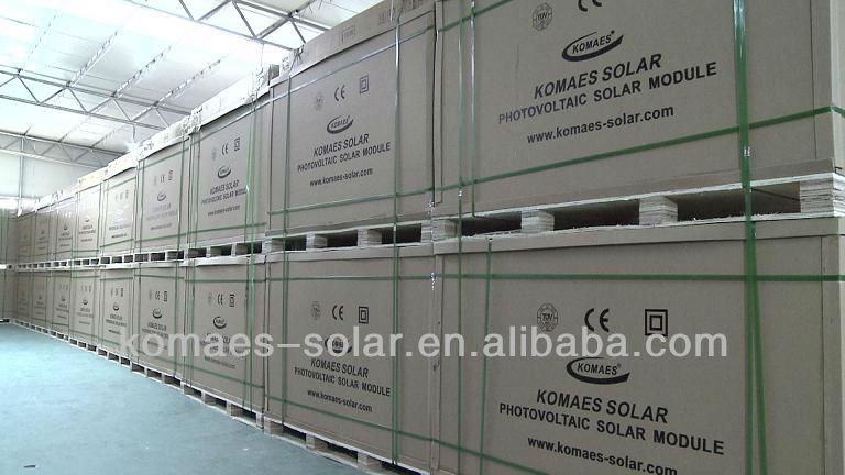 225W Solar System Solar Module Solar Panel with TUV IEC MCS INMETRO IDCOL SONCAP Certificate (EU Antidumping Duty-Free)