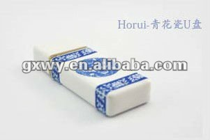 High quality Porcelain usb 2.0 2GB usb memory