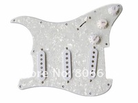 Аксессуары для гитары 3S White Pearl Guitar Loaded Prewired Pickguard For Strat Style Guitar