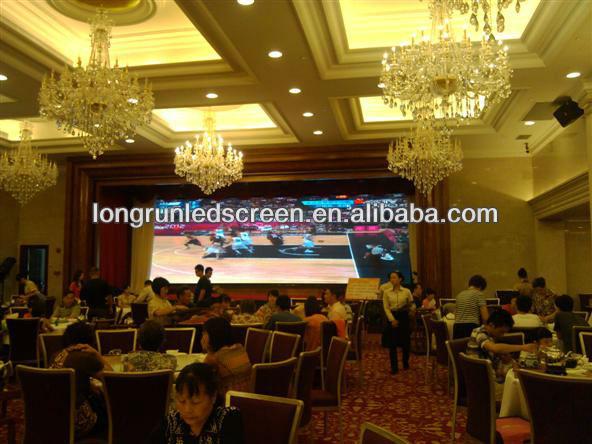 P4 LED Screen Display Black Peal