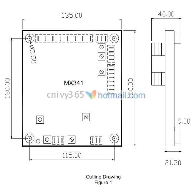 adjustable automatic voltage regulator mx341 a in pmg. Black Bedroom Furniture Sets. Home Design Ideas