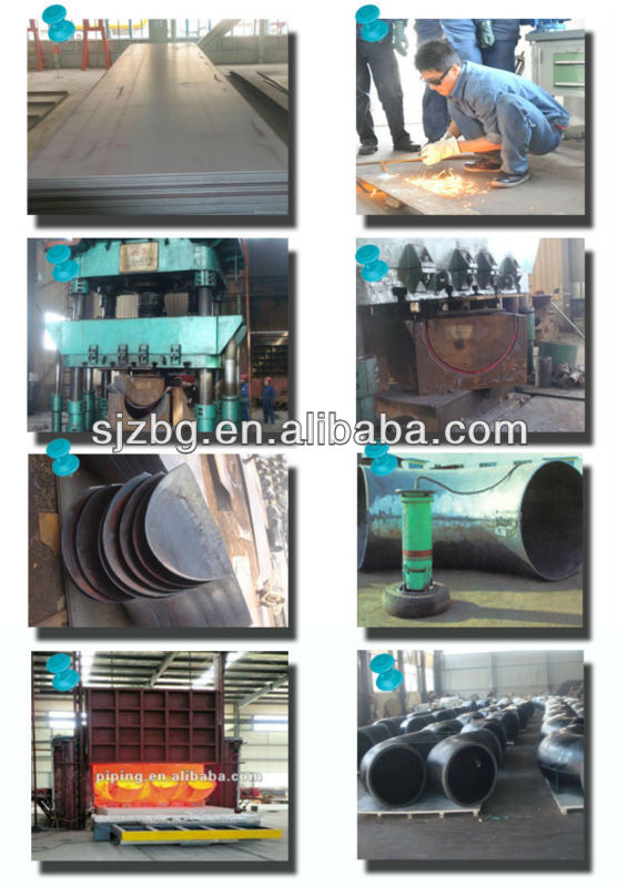 schedule 80 steel pipe fittings elbow