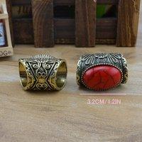 костюм ювелирные изделия популярны как бирюзовый перстень микс цвета r421