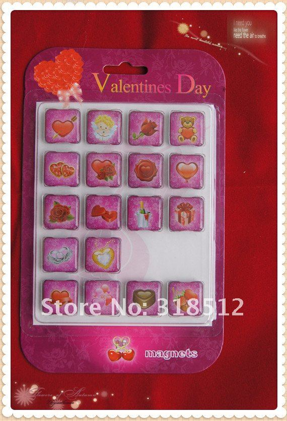 New Arrivel - Fashion Romantic Valentine Fridge magnet ,Gifts Items