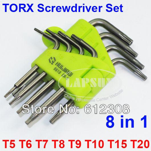 Torx Screwdriver Tool Lot t5
