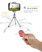 Потребительская электроника Mini Bluetooth Remote Camera Control Self-timer Shutter for iPhone 4 5 Galaxy S4 S5 MTK6592 mtk6589t Lenovo Android Smartphones