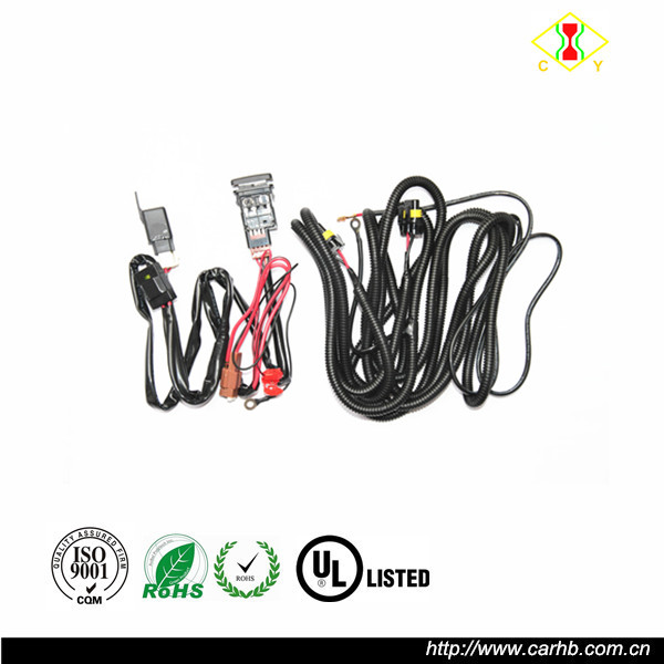 fog light wiring harness with installation wiring harness diagram