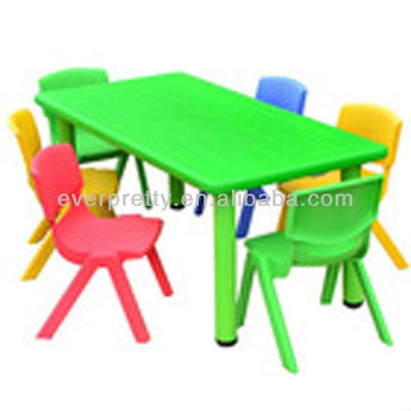 Colorido barato utilizado mesas y sillas preescolar, reposteria y ...