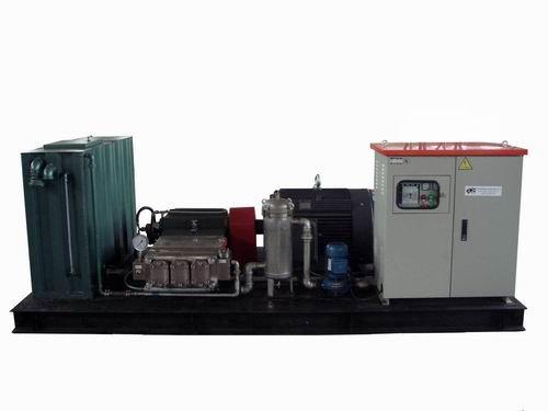 Rust Removal High Pressure water Jetting Blasting Machine