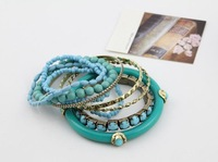Ювелирное изделие Beautiful acrylic beaded pack Bangle MOQ 10USD