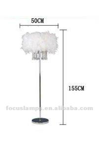 lampadaire a plume
