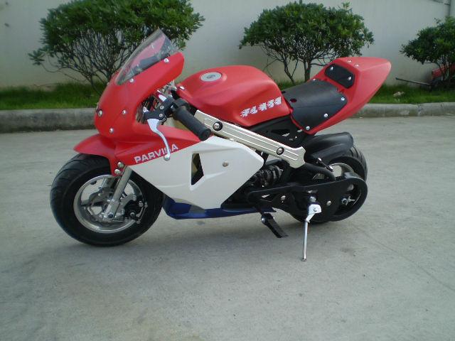 49cc gas powered pocket bike