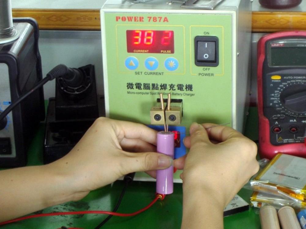 Прибор для точечной сварки аккумуляторов своими руками