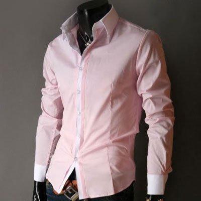 Mens Pink Casual Shirts | Is Shirt