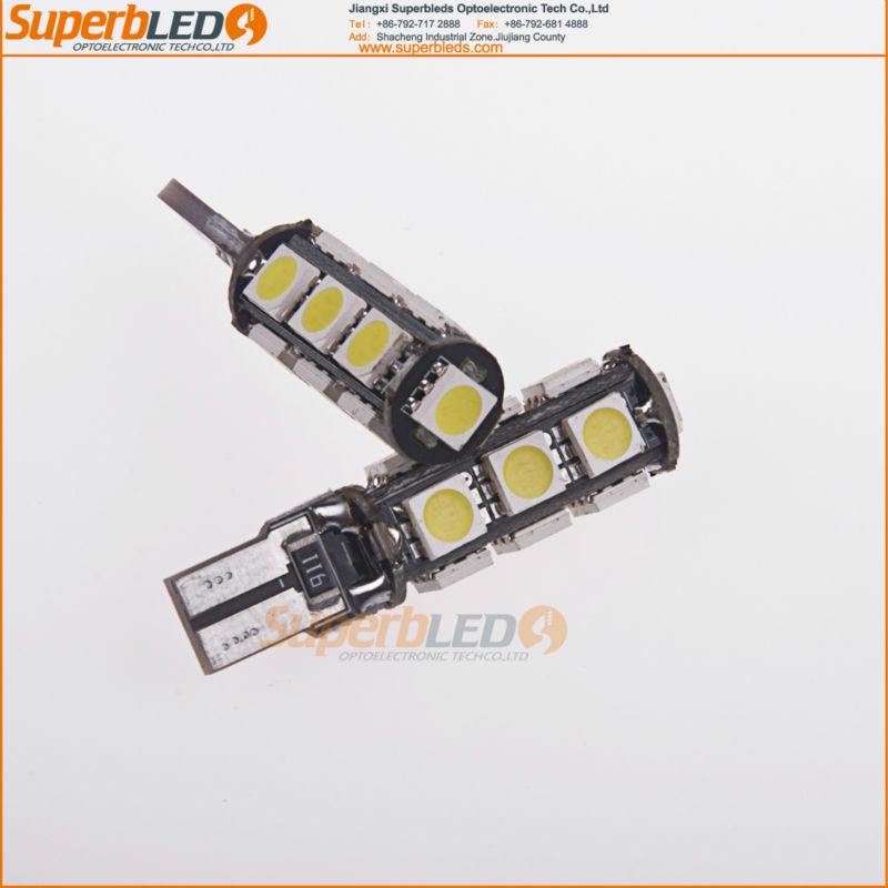 Super Bright 13-SMD 7440 7441 7443 7444 992A Car LED Bulbs For Turn Signal Lights, Brake Lights, Back up Lights